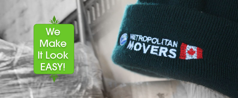 Metropolitan hat - senior moving services