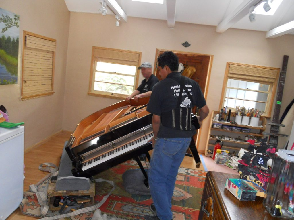 piano packing and moving